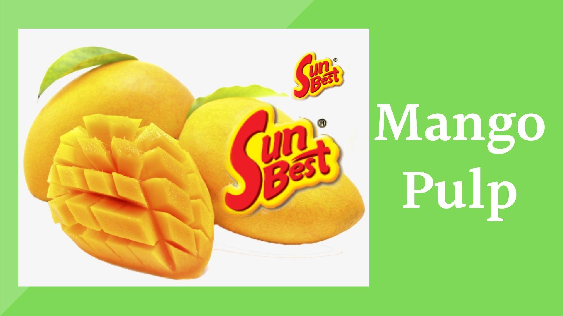 Sunbest Mango Pulp